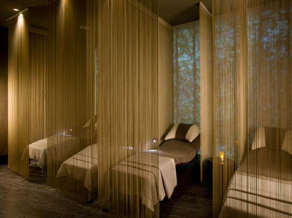 Exquisite spa interiors from the edition hotel in istanbul for Decor hotel istanbul