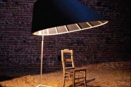Contemporary, large and interesting Eliz Lamp by Stal Collectief