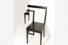 Interesting and Unique Corner Chair by Anton Björsing
