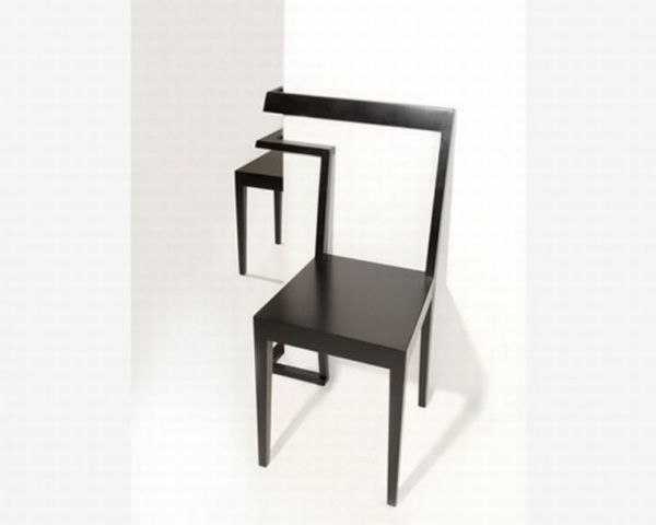 Interesting and unique corner chair2