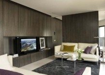 Modern penthouse apartment design in Barcelona by Ylab Architects