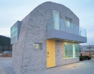 Day-care during daytime, residence at night: Pixel House