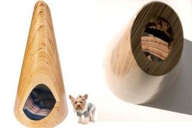 Conical Pup Tent for indoor use – modern pet furniture