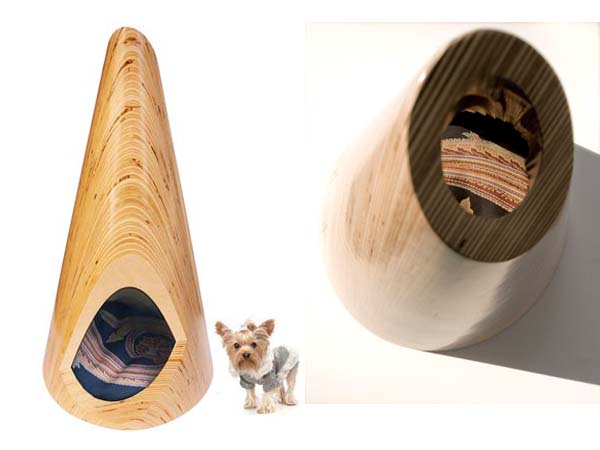 Pup Tent Conical Pup Tent for indoor use   modern pet furniture