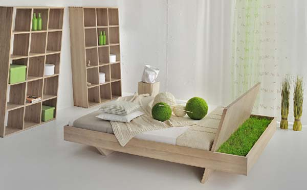 Somnia Bed by Vitamin Design  Awesome Somnia Bed design featuring a green display