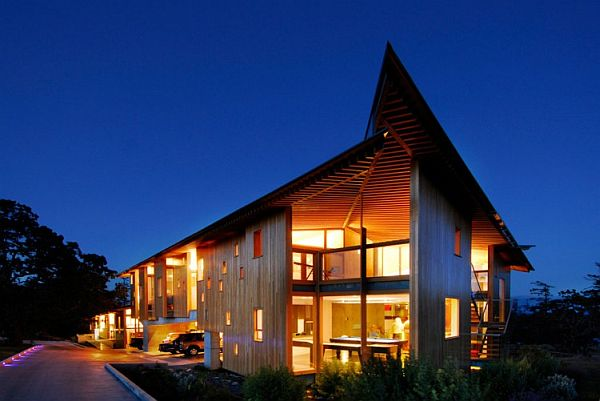 Swanwick Ranch 1 Modern Ranch in British Columbia Charms With Its Luxury Amenities