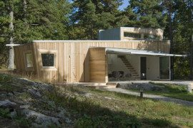 Stockholm Wooden House is as Eco-friendly as it Can Get