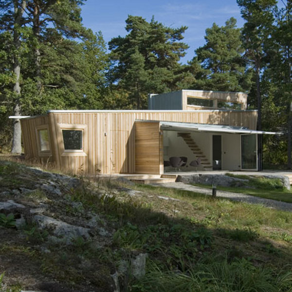 Wooden house by Schlyter.jpg.2 Stockholm Wooden House is as Eco friendly as it Can Get