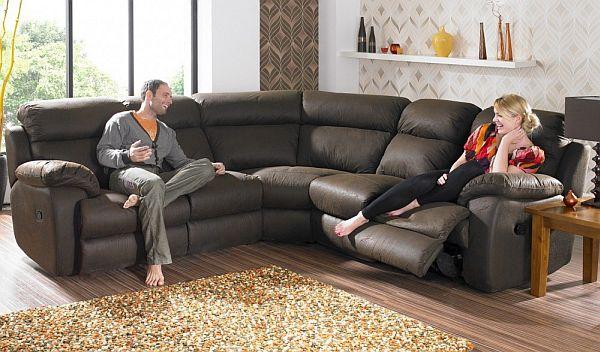 Alsace Curved Corner Sofa