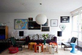 Brazilian Architect Condo in Sao Paulo Emanates Creativity