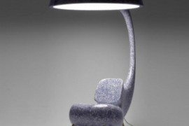 Anglerfish Chair With A Big Lamp 3