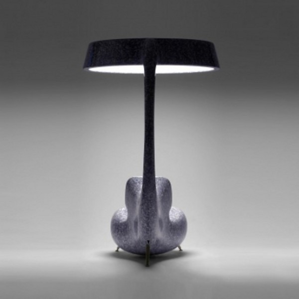 Anglerfish Chair With A Big Lamp 4 Light Up Chair Reminds You of the Anglerfish