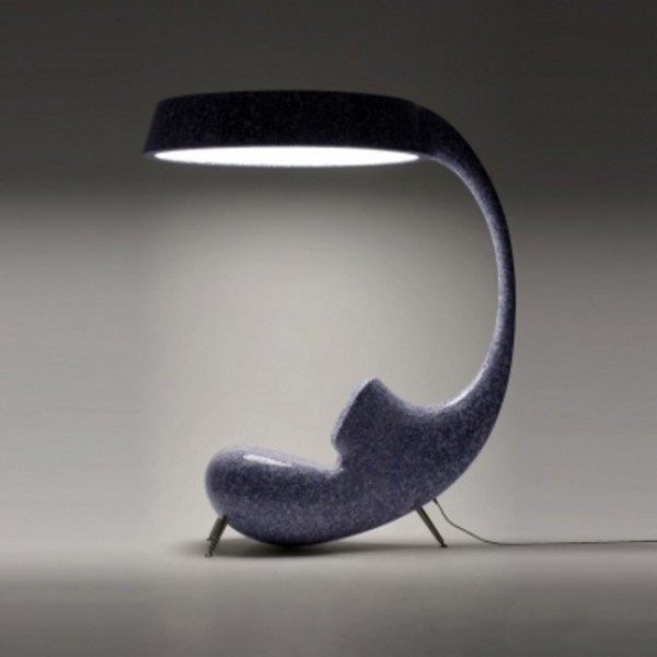 Anglerfish Chair With A Big Lamp 5 Light Up Chair Reminds You of the Anglerfish