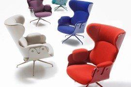 Elegant and curvacious BD Barcelona Design Lounger
