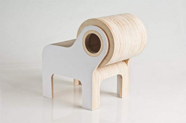 Bull by Ander Lizaso 1 Bull Chair for Your Imaginative Kid