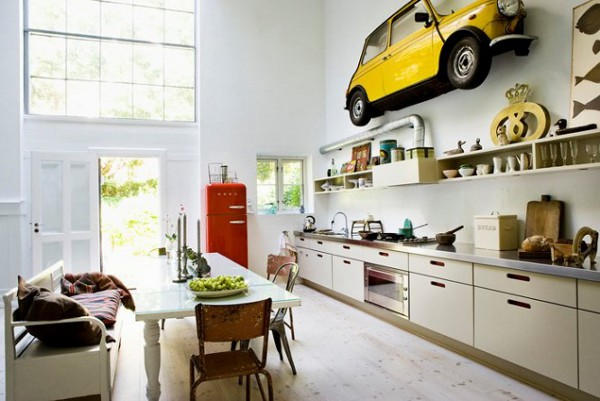 Car parked inside home 13