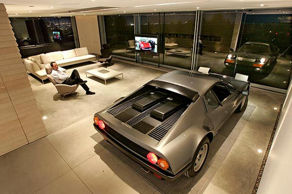 Car parked inside home 7