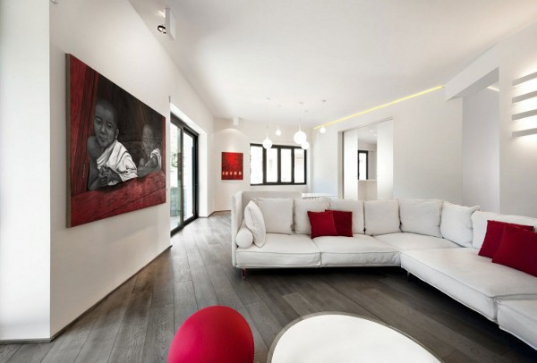 Celio 3 Celio Apartment in Rome Oozes Magical Design