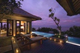 Luxurious resort in Indonesia: Conrad Bali