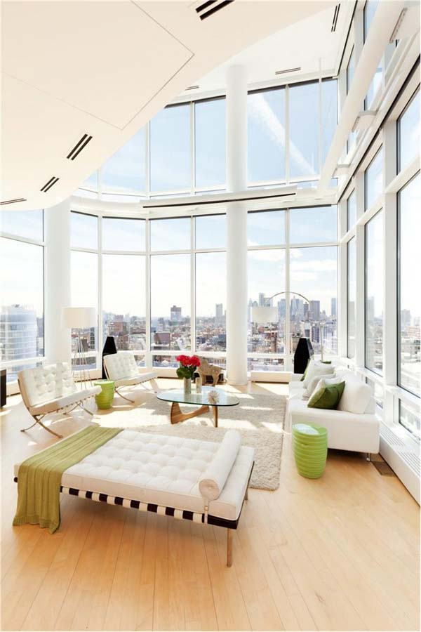 Exceptional duplex penthouse apartment in the heart of big for Penthouse apartments in nyc