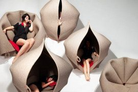 Step inside a world of comfort: the Hush Pod