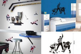 Hockey-Themed Bedrooms Can be Alluring; Design One for Yourself!