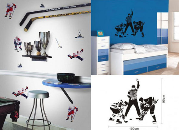 Hockey Themed 2 Hockey Themed Bedrooms Can be Alluring; Design One for Yourself!