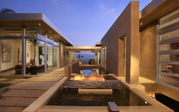 House With Spectacular Downtown City Views 4 Home with a View; McClean Design Home in LA is Simply Amazing