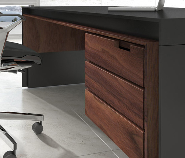 Massive Executive Desk 2 Imposing Massive Office Desk by Ece Yalim Design Studio