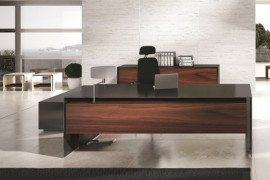 Imposing Massive Office Desk by Ece Yalim Design Studio