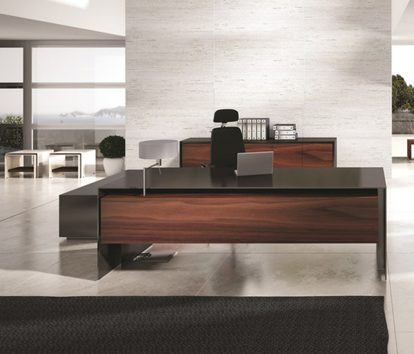 imposing massive office desk by ece yalim design studio office furniture office table and executive office - Home Office Desk Design