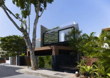 Vertical gardens and inclined roof terraces: Maximum Garden House