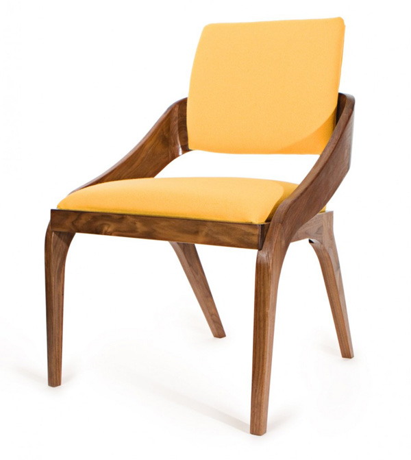 Meg O%E2%80%99Halloran furniture 2 Fantastic chairs combining different styles from Meg O'Halloran