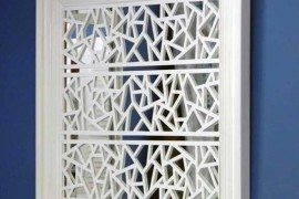 Modern fretwork panels: O'verlays by Cheryle Rhuda and Danika Herrick