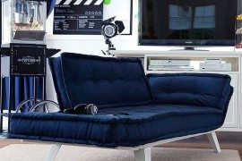 Practical and Comfortable Lean+Laze Lounger