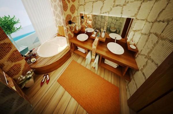 Unique Bathroom Designs by Daymon Studio and Semsa Bilge 4