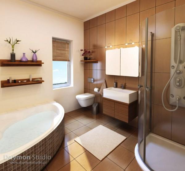 Unique Bathroom Designs by Daymon Studio and Semsa Bilge 8