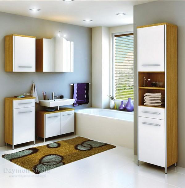Unique Bathroom Designs by Daymon Studio and Semsa Bilge 9