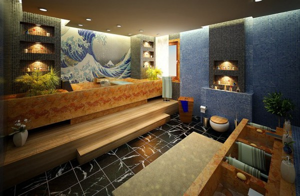 Unique Bathroom Designs by Daymon Studio and Semsa Bilge2 Luxurious and Colorful Bathrooms You Would Want to Own