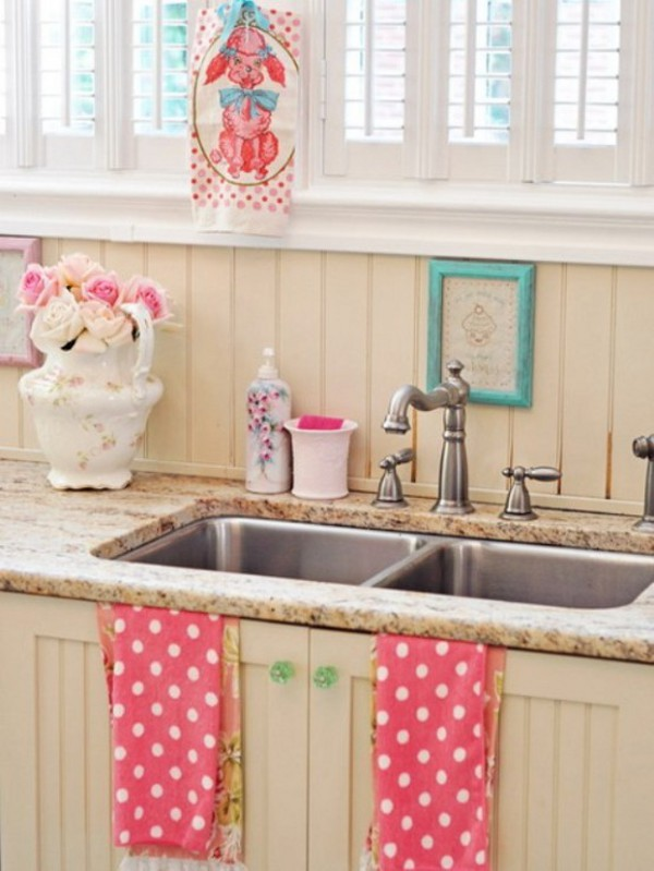 Vintage yet romantic kitchen to suit your taste for Kitchen ideas vintage