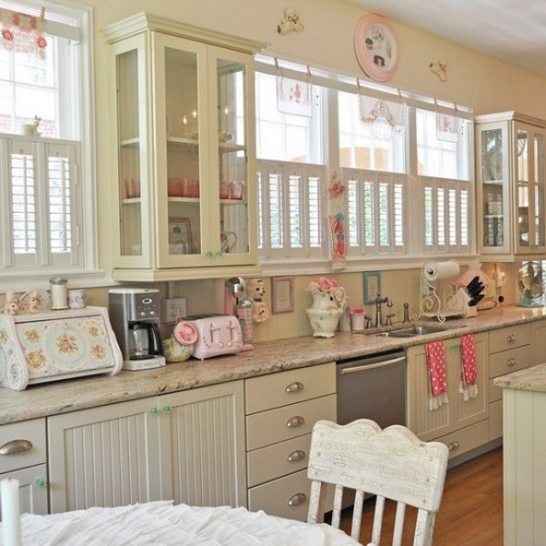 Vintage Candy 9 Vintage, Yet Romantic, Kitchen to Suit Your Taste