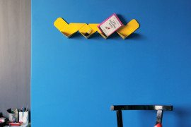 Contemporary shelf design for modern homes: Wow Shelf by Arthur Analts