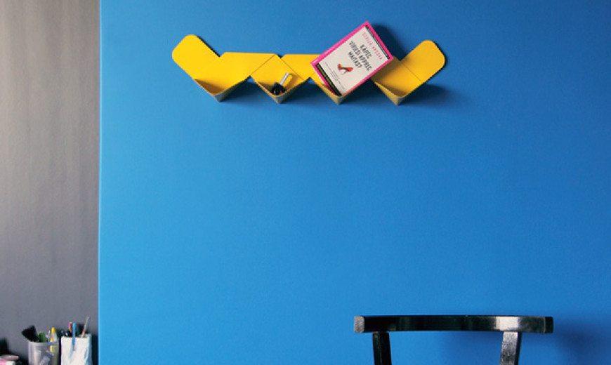 Contemporary shelf design for modern homes: Wow Shelf by Arthur Analts