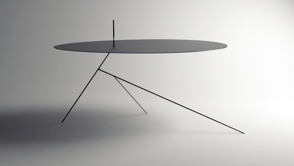 chiuet 01 Surprisingly thin table design: Chiuet Table by Design Jay