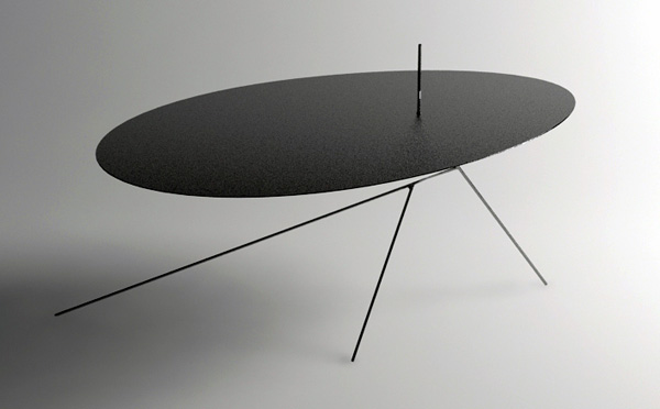 chiuet 03 Surprisingly thin table design: Chiuet Table by Design Jay