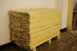 Creative chest of drawers: Ordinary day in a wood factory