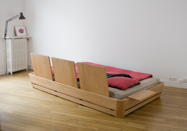 100%C2%B0 bed 2 The 100° bed   modern, comfortable, interactive and minimalist