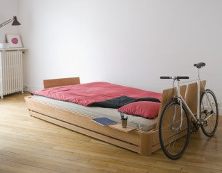 The 100° bed – modern, comfortable, interactive and minimalist