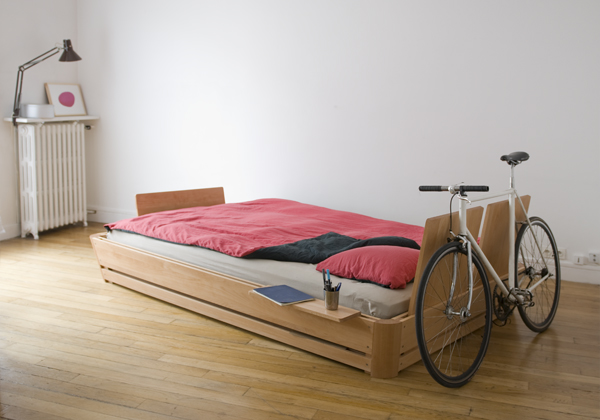 100%C2%B0 bed The 100° bed   modern, comfortable, interactive and minimalist