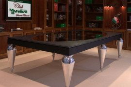 Dine and Play on MBM Billardi Billiard Dining Tables